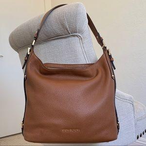 MICHAEL KORS Bedford Belted Shoulder Bag Luggage